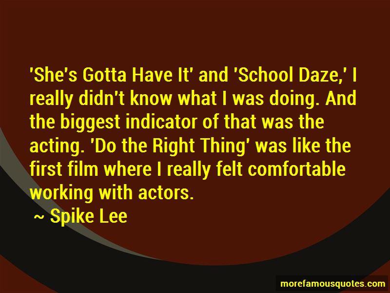 School Daze Quotes