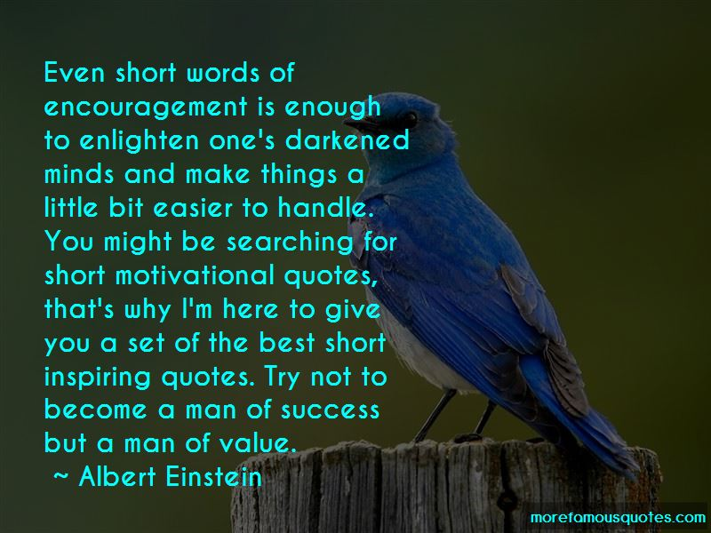 Short Motivational Quotes: top 1 quotes about Short ...