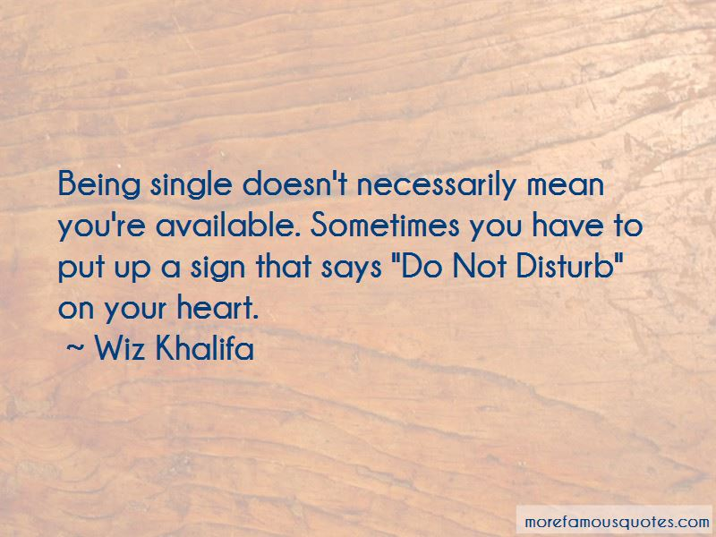 Single Available Quotes