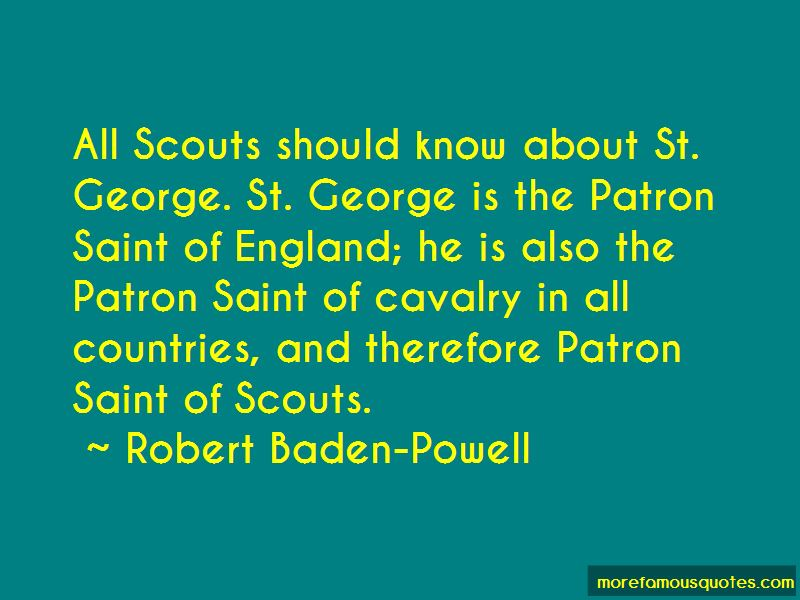 St George England Quotes
