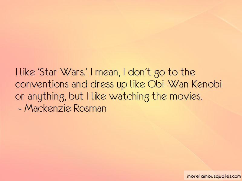 Star Wars Kenobi Quotes