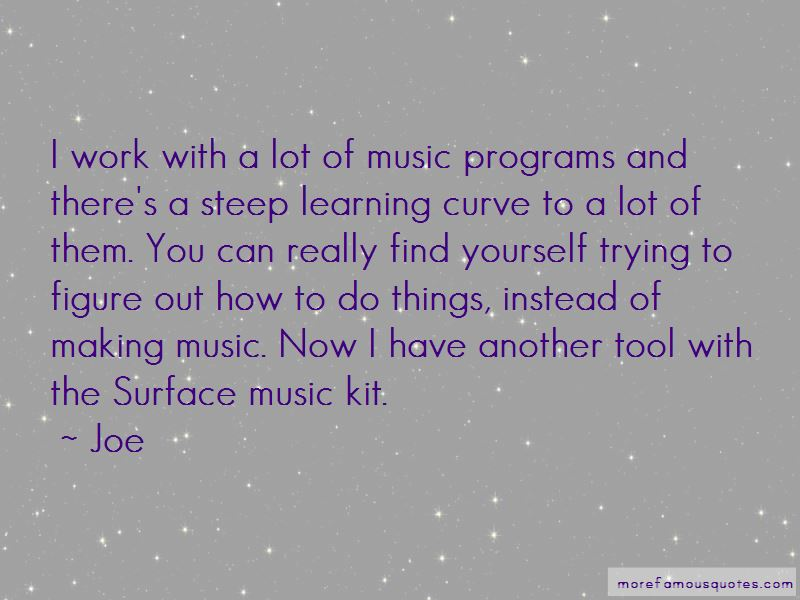 Steep Learning Curve Quotes Pictures 3