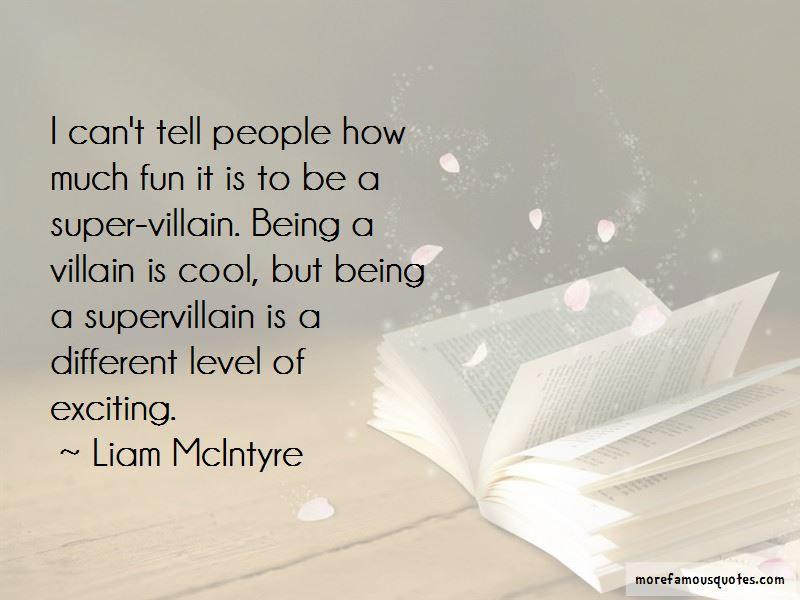 Super Villain Quotes