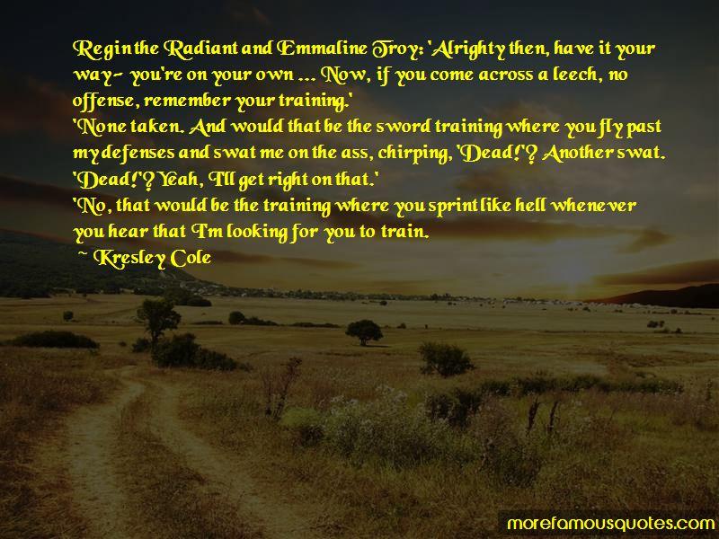 Swat Training Quotes
