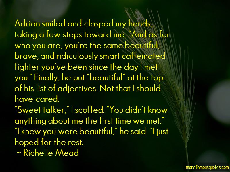 Sweet Talker Quotes Pictures 2