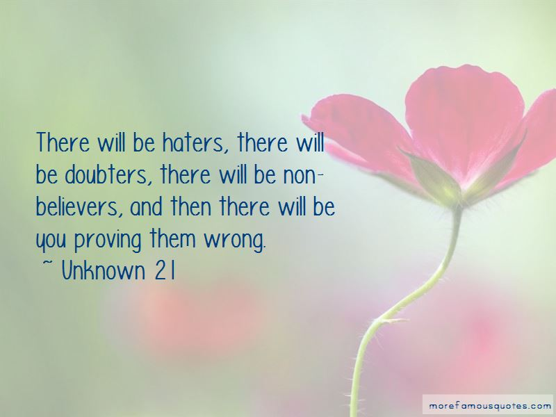There Will Be Doubters Quotes Pictures 2