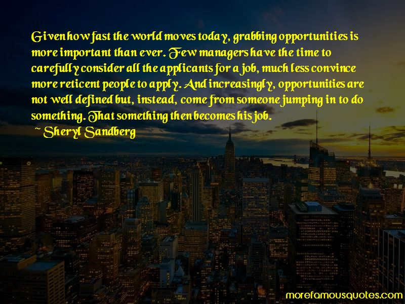 Time And Opportunities Quotes Pictures 4