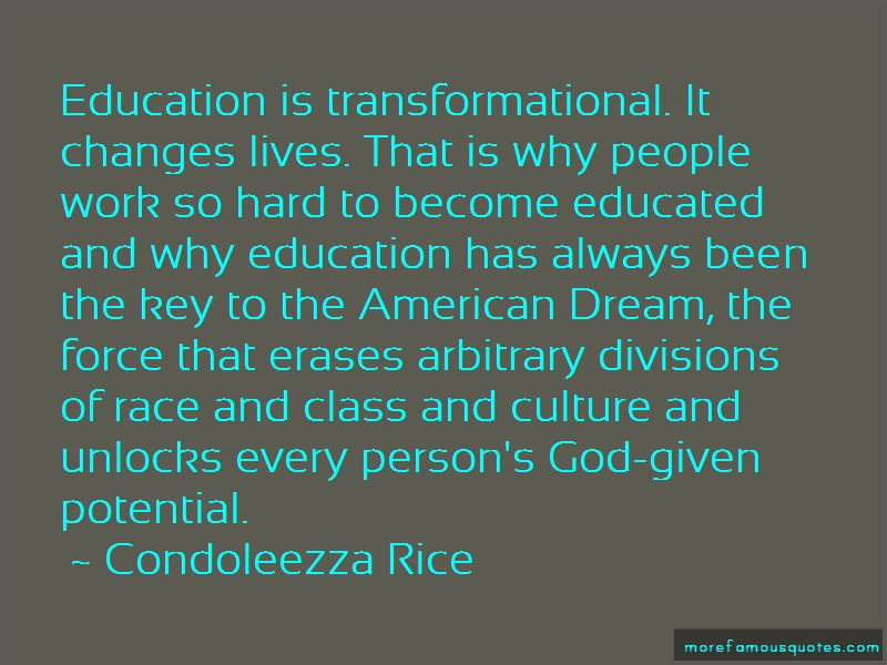 Transformational Education Quotes