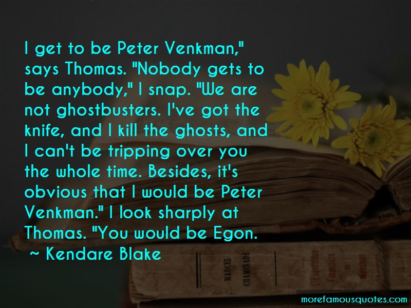 Venkman Quotes