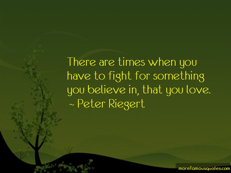 When You Believe In Love Quotes