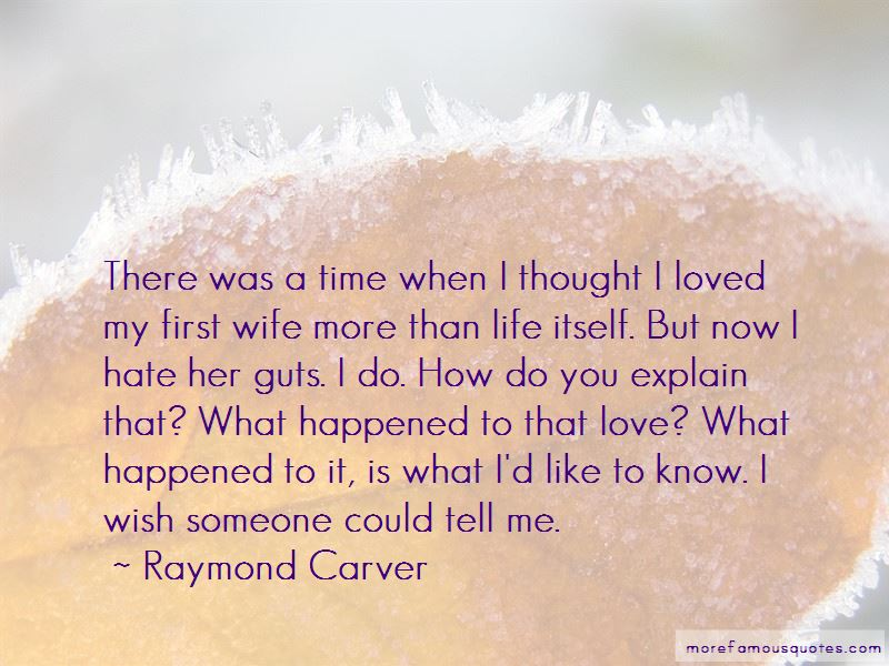 When You Love Someone More Than Life Itself Quotes