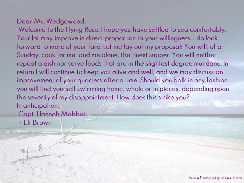 Willingness To Improve Quotes