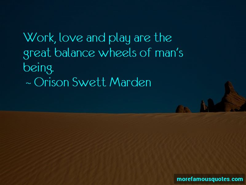 Work Play Balance Quotes