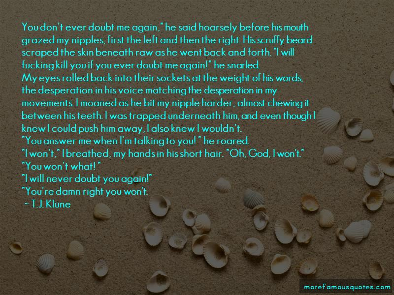 You Left Again Quotes