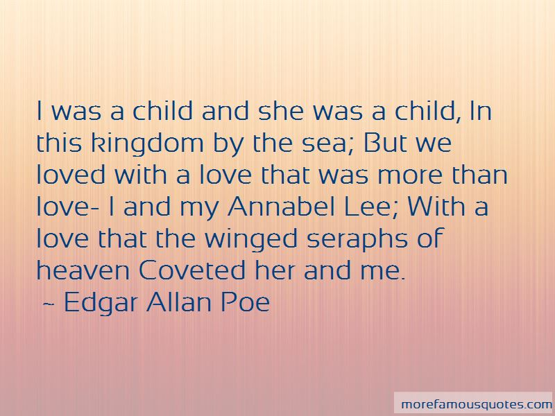 Annabel Lee Love Quotes