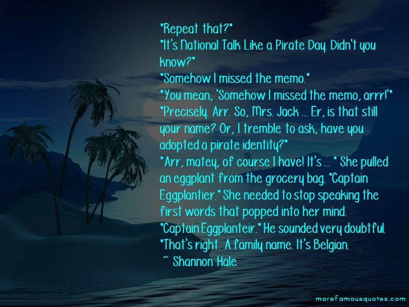 Arrr Pirate Quotes