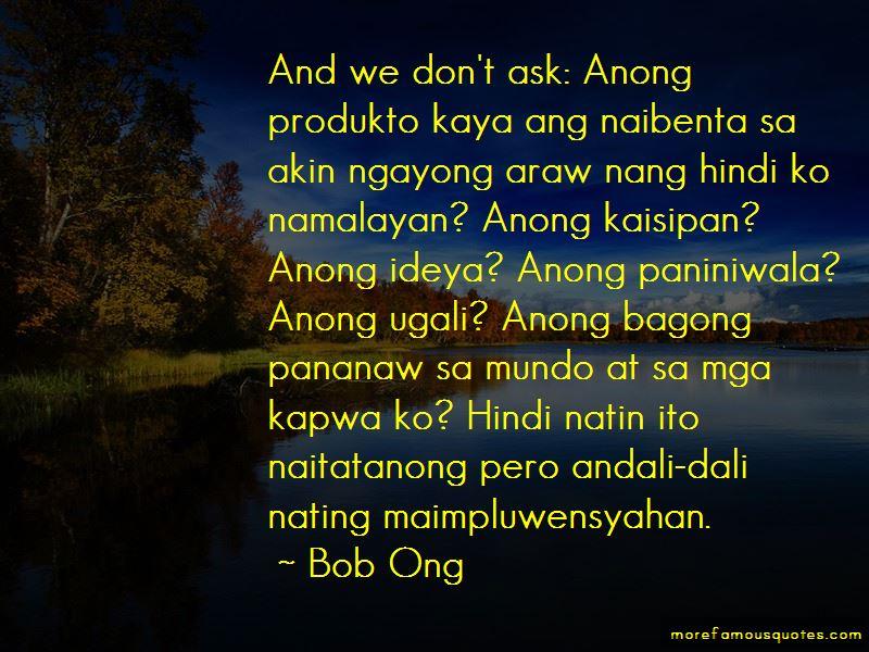 Bagong Quotes