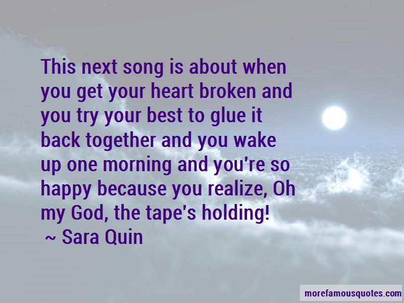 Best Broken Heart Song Quotes