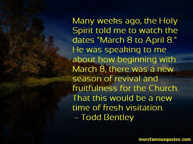 Church Visitation Quotes