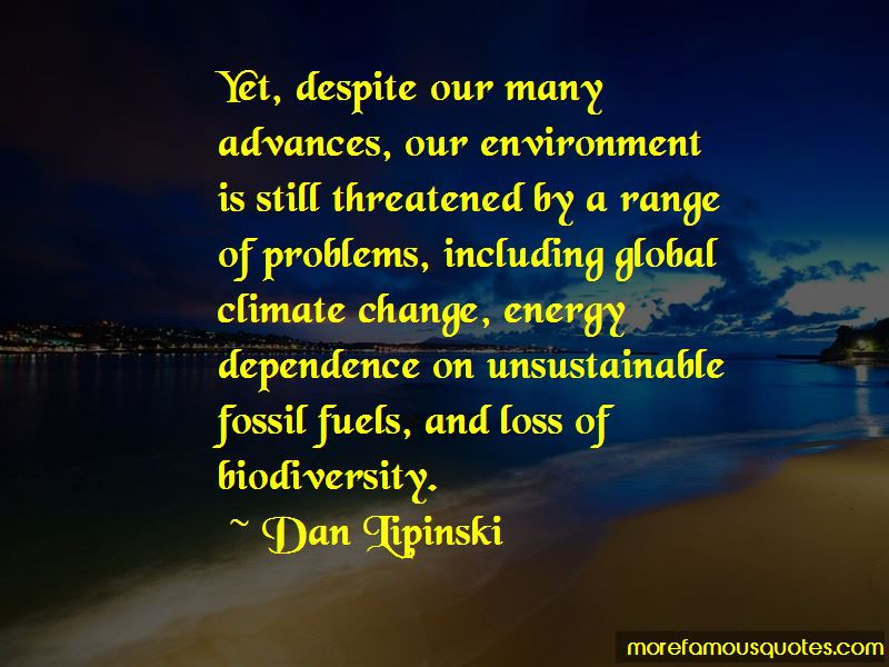Energy Dependence Quotes