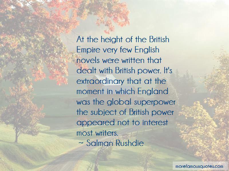 English Novels Quotes