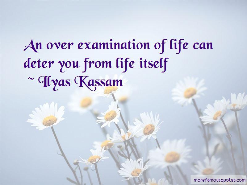 Examination Of Life Quotes
