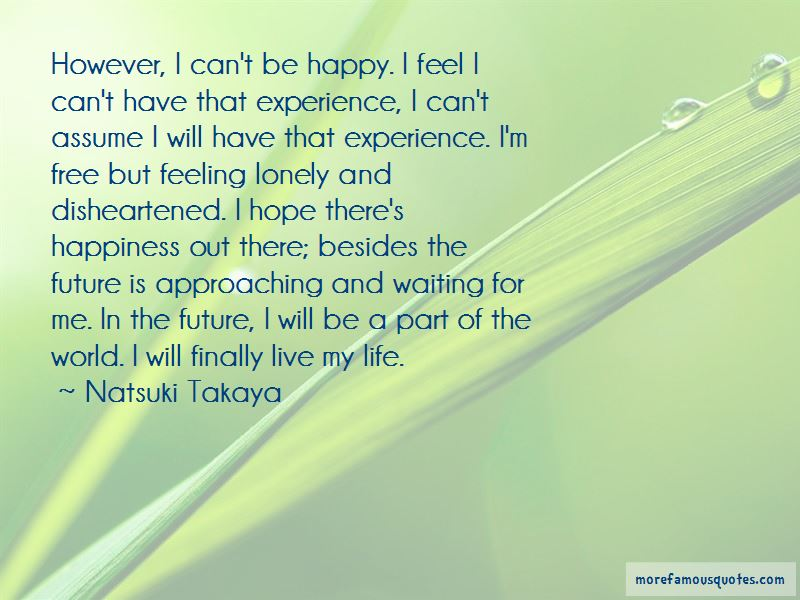 Experience From Life Quotes