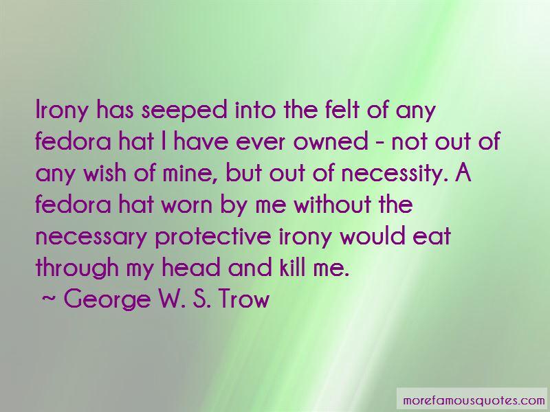 Fedora Hat Quotes
