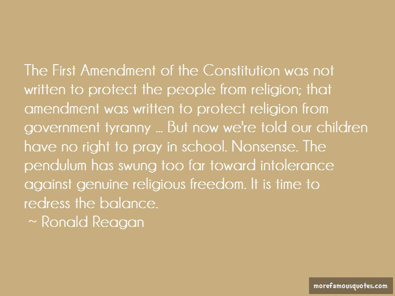 First Amendment Freedom Of Religion Quotes Pictures 2