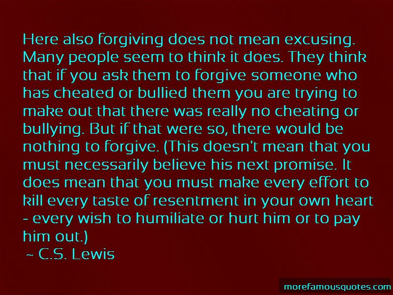 Forgiving Him For Cheating Quotes: top 1 quotes about ...