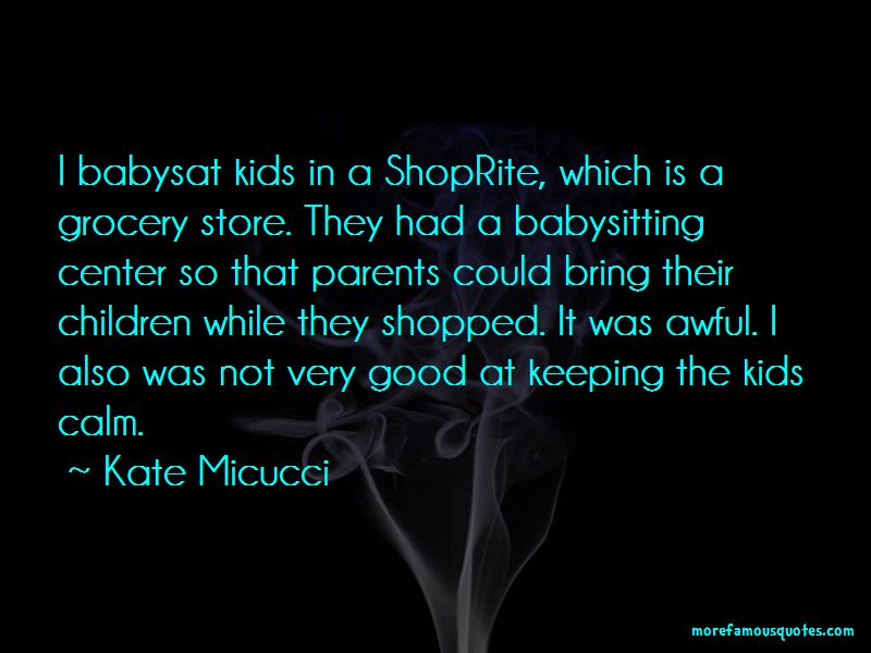 Good Babysitting Quotes Pictures 2