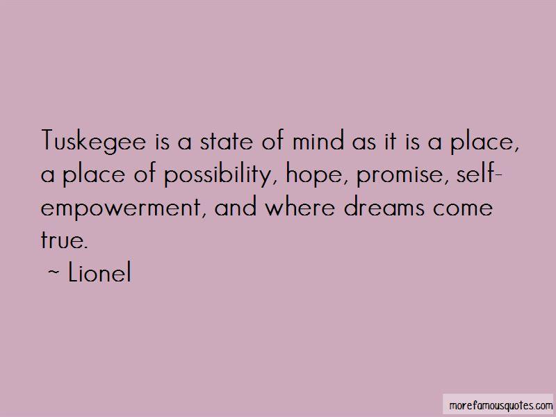 Hope Dreams Come True Quotes