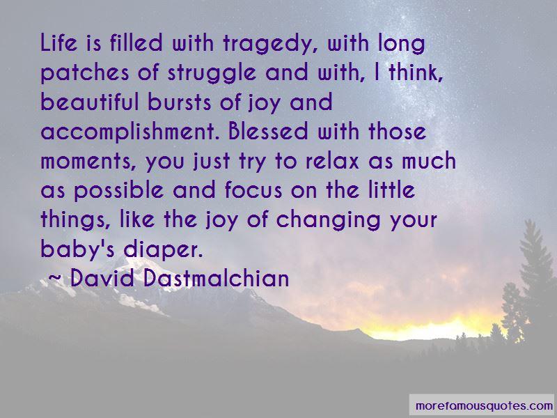 tragedy changed my life