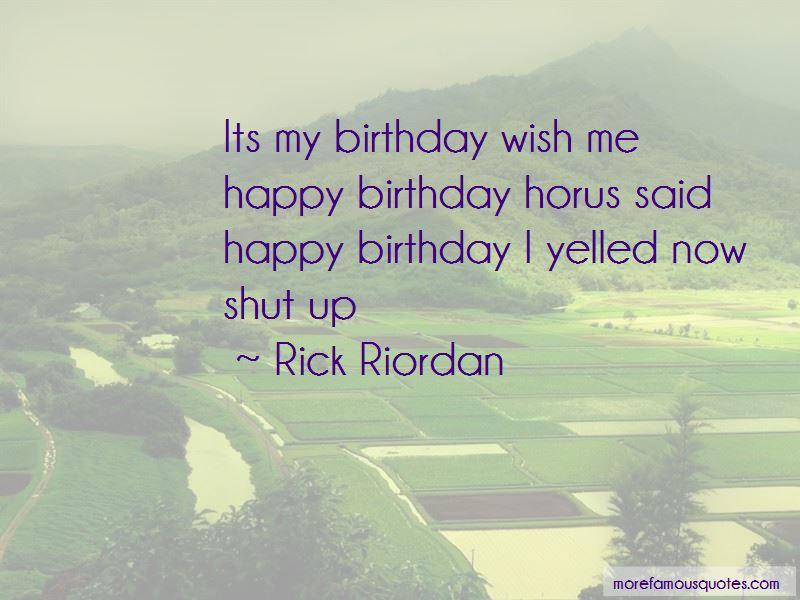 Its My Birthday Quotes