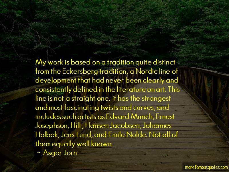 Jens Jacobsen Quotes