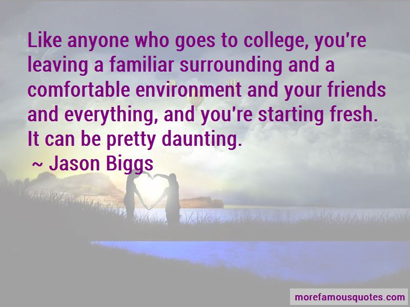Leaving College Friends Quotes