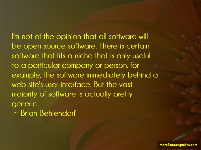 Open Source Software Quotes