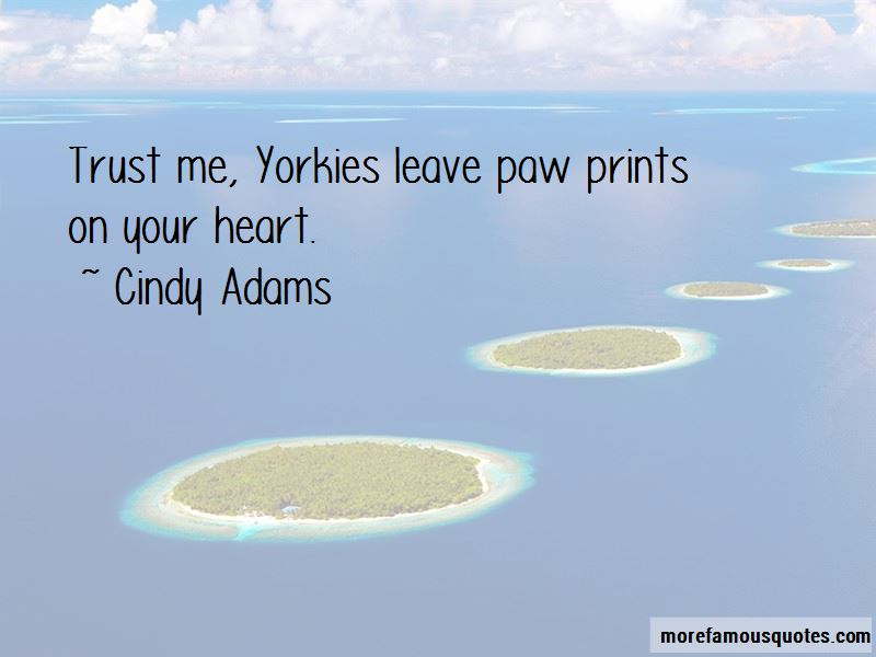 Paw Prints On Your Heart Quotes