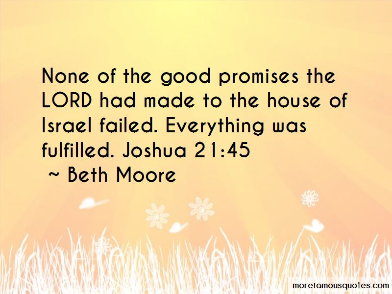 Promises Failed Quotes