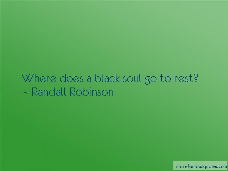 Quotes About A Black Soul
