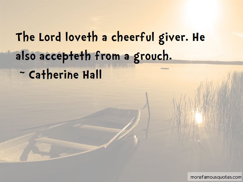 Quotes About A Cheerful Giver
