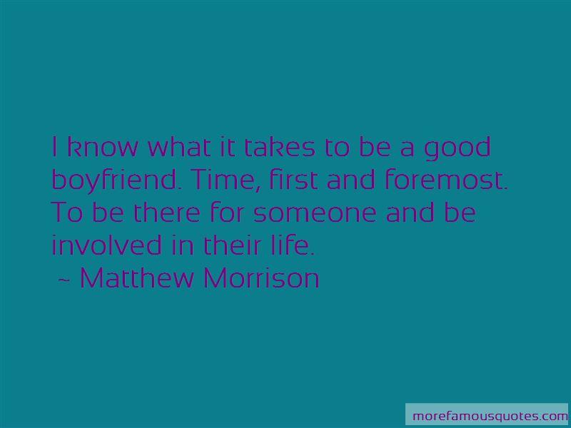 Quotes About A Good Boyfriend
