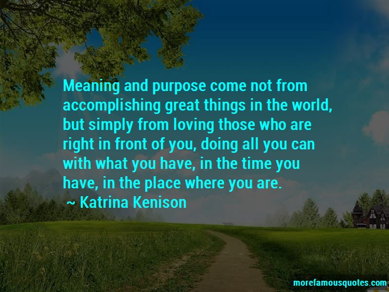 Quotes About Accomplishing Great Things