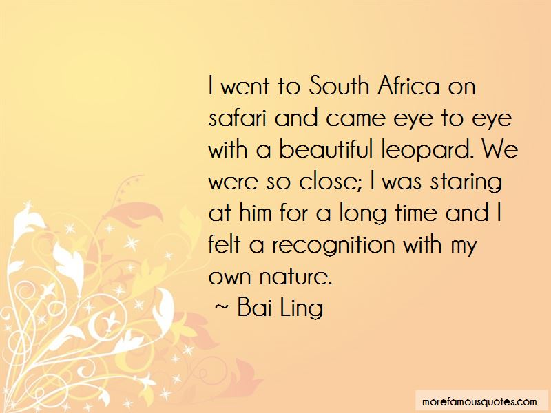 Africa Nature Quotes Pictures 2