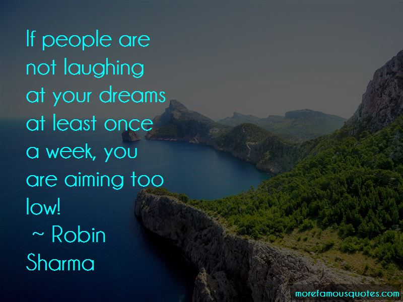 Quotes About Aiming Dreams