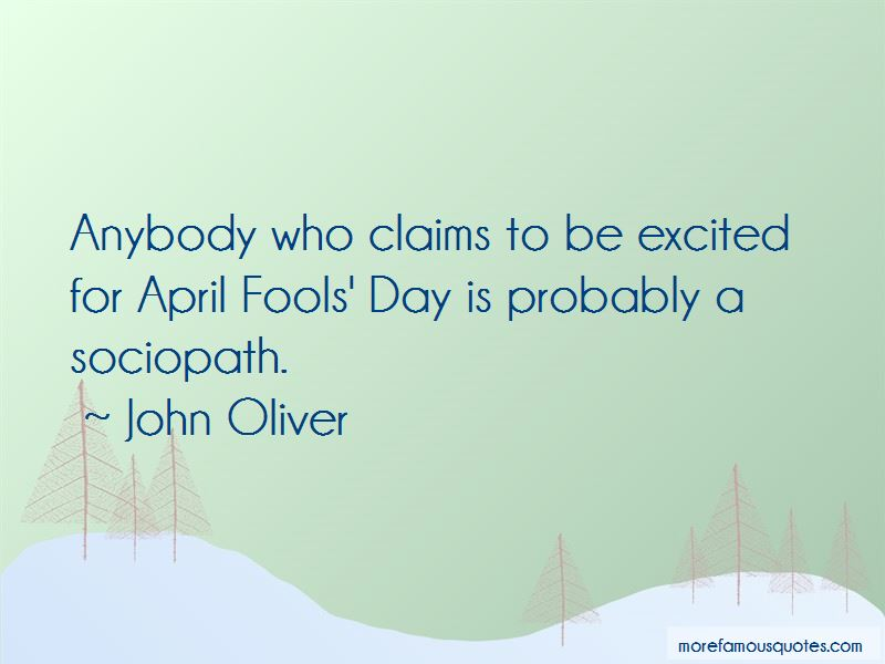 Quotes About April Fools Day