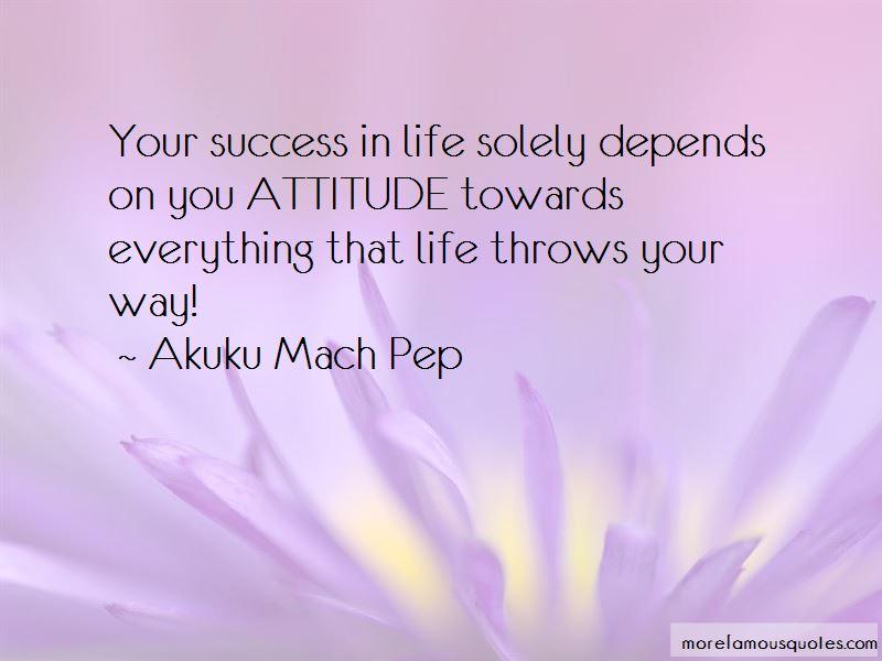 Attitude Towards Success Quotes Pictures 3