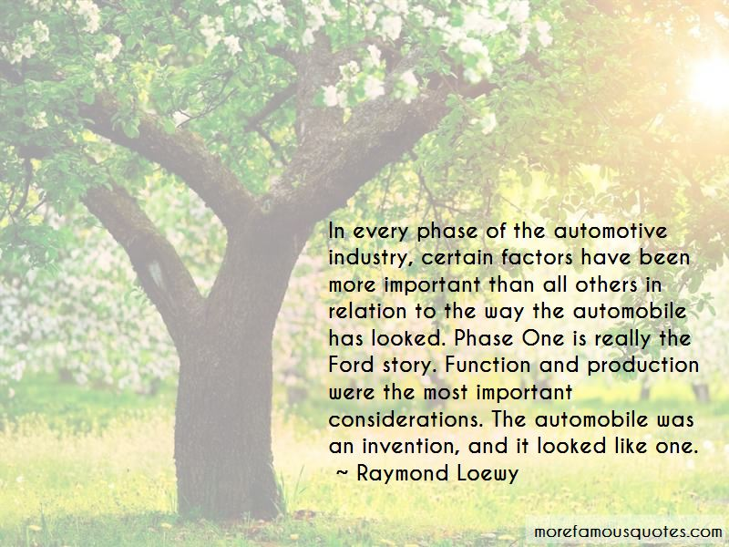 Quotes About Automotive Industry