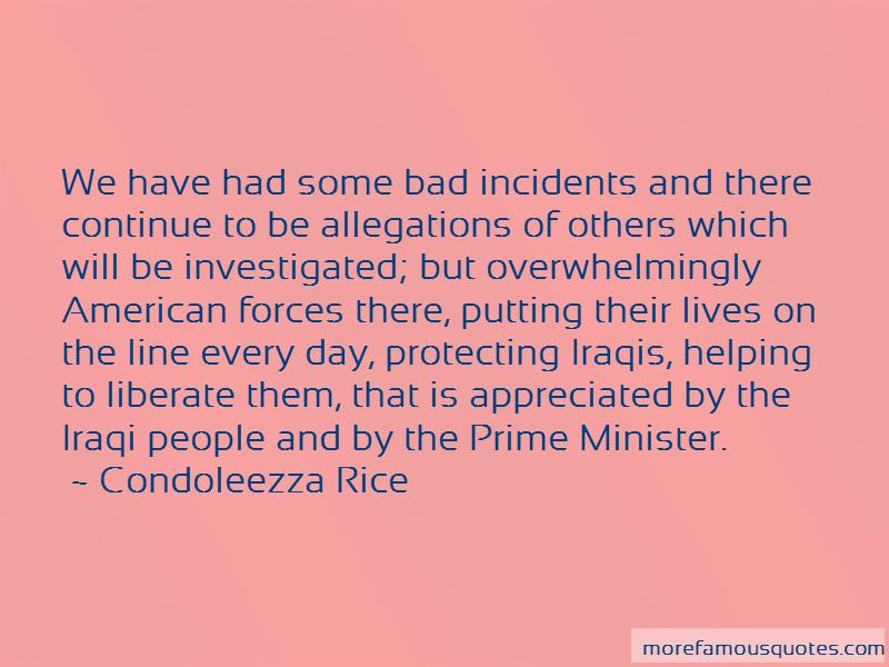 Quotes About Bad Incidents