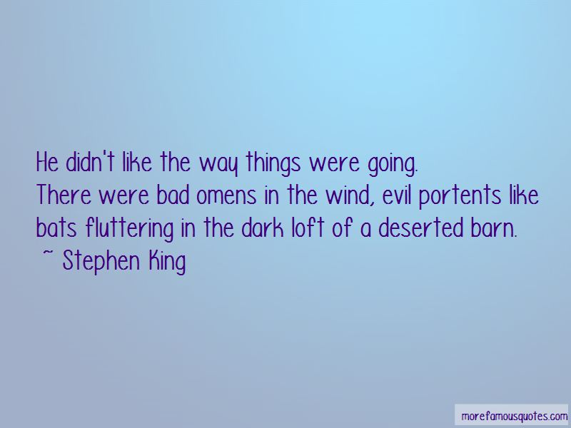 Quotes About Bad Omens
